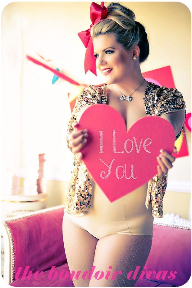 Valentine S Day Boudoir Photo Shoot Boudior V Day Hearts Red Lips