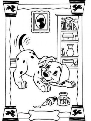 101 Dalmatians coloring page 45 | 101 dalmatians coloring pages ...