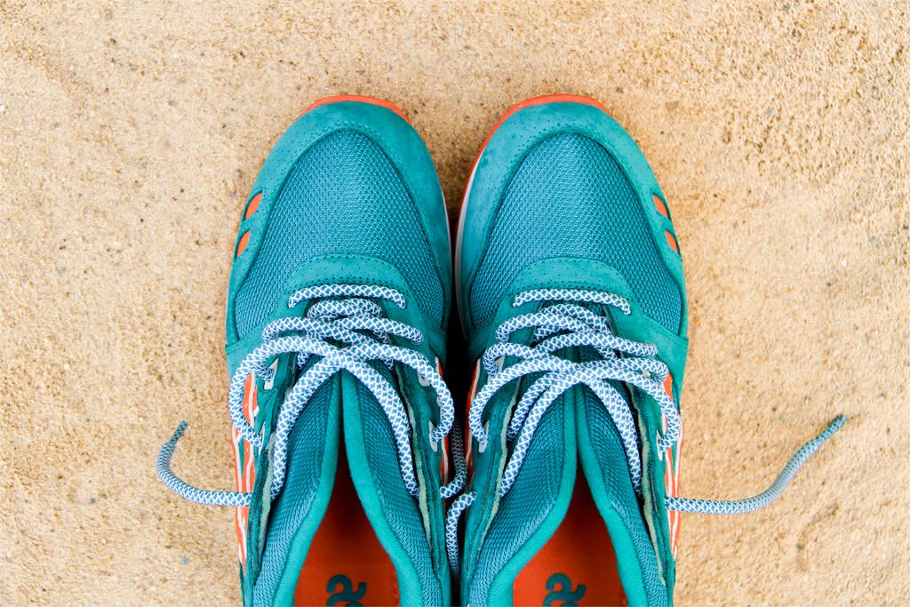 Asics Miami Colourway Sneakers Asics Gel Lyte Iii Gel Lyte