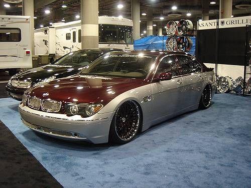 2003 bmw 745li 29 500 100138603 custom show car. Black Bedroom Furniture Sets. Home Design Ideas