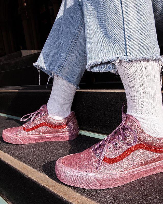 Vans x Opening Ceremony: So hat noch kein Sneaker geglitzert