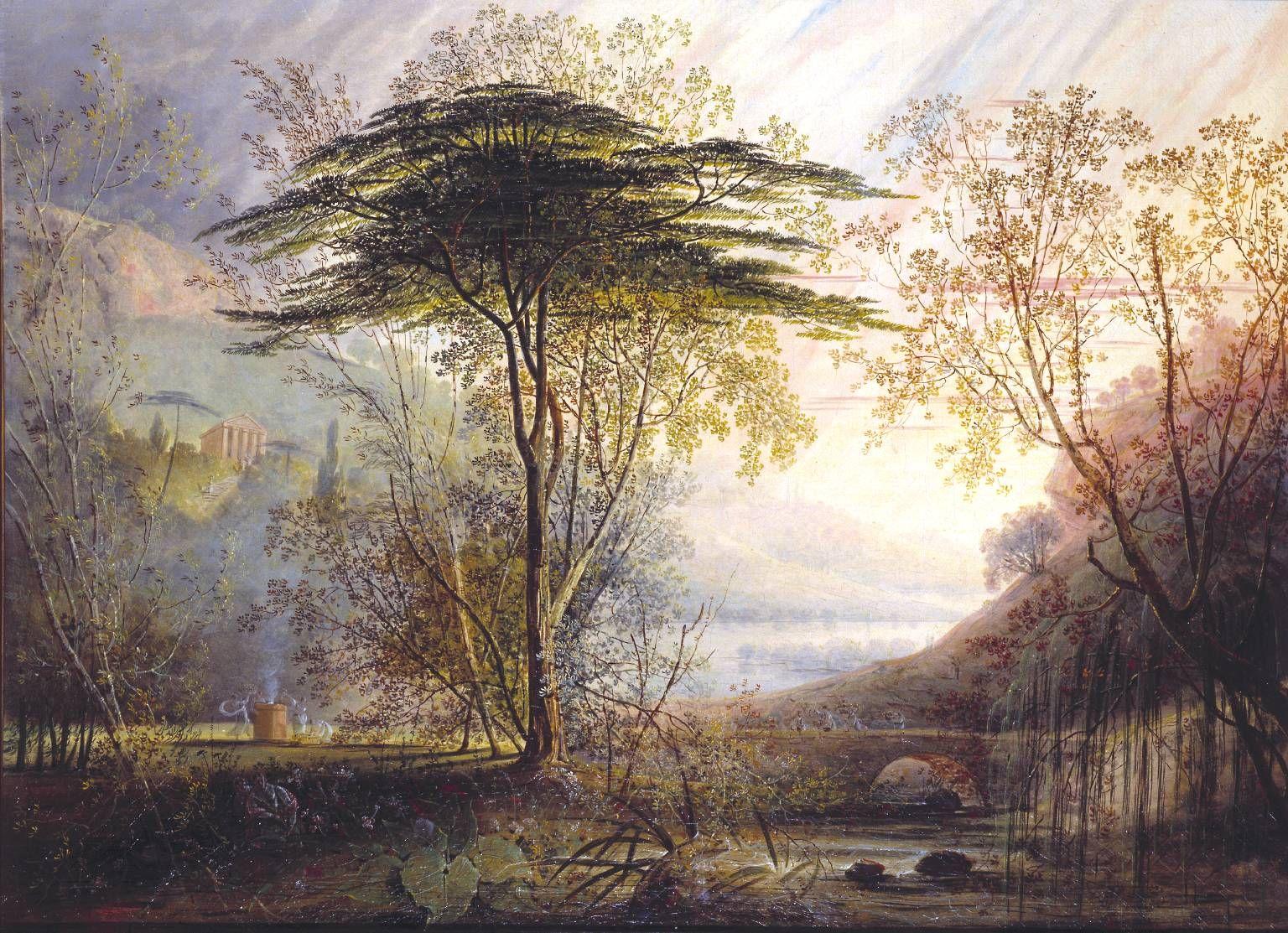Hudson River School Of Painter Hudson River School Art Landscape Paintings
