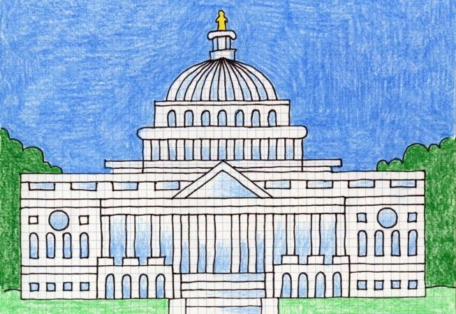 US Capitol   Art Projects For Kids