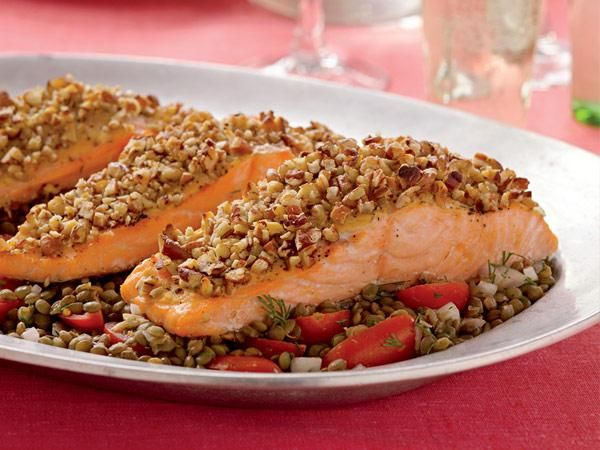 Farmers market recipe finder tomatoes roasted pecan salmon with farmers market recipe finder tomatoes roasted pecan salmon with lentil tomato salad forumfinder Gallery
