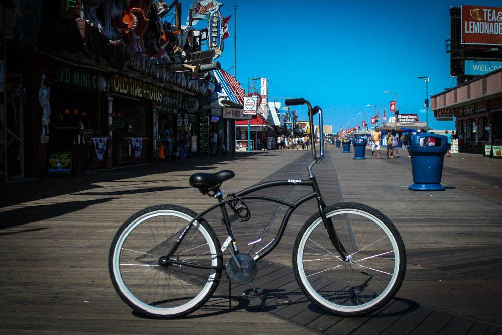 Custom Builda Bike Beach Cruiser With Mini Ape Hangers Cool