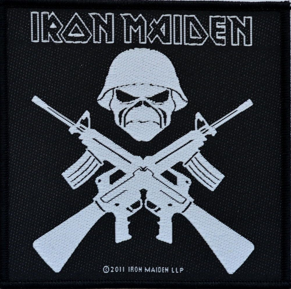 Official Iron Maiden Patch  £3.75