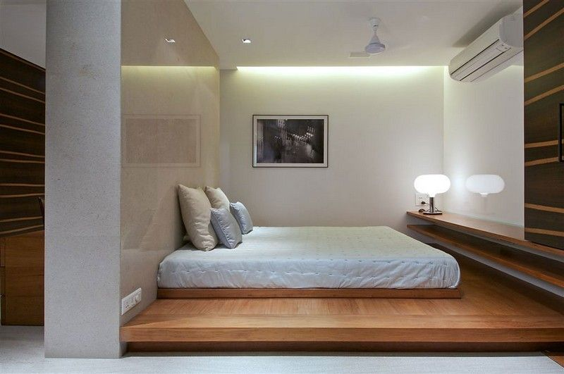 Tatami Bett weißes schlafzimmer mit tatami bett einrichten rooms