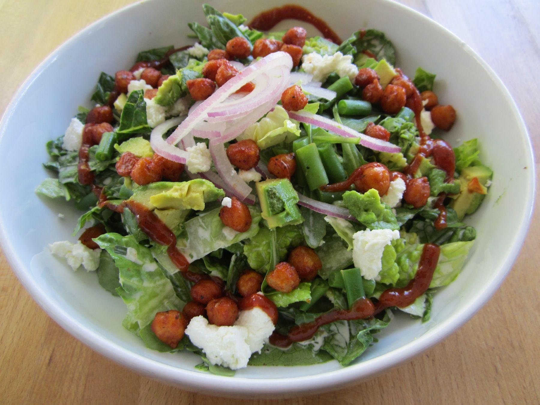 BBQ Chickpea Salad