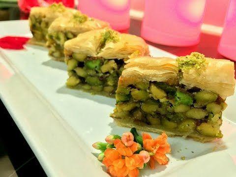 بقلاوة لسان العصفور ولاألذ من هيك Youtube Lebanese Desserts Food Cooking