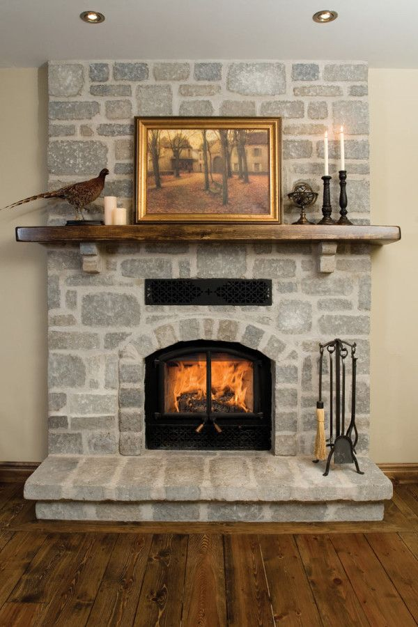 Image Of Artistic High Efficiency Gas Fireplace Logs With Double Door Screens Beside Black Wrought Iron Tools Also Reclaimed Wood
