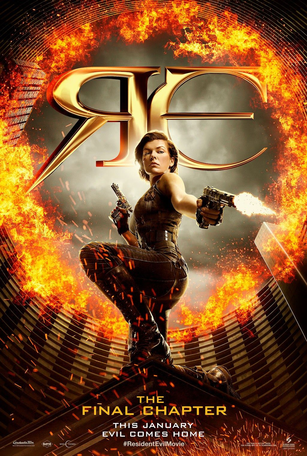 Resident Evil: The Final Chapter Movie Poster No2