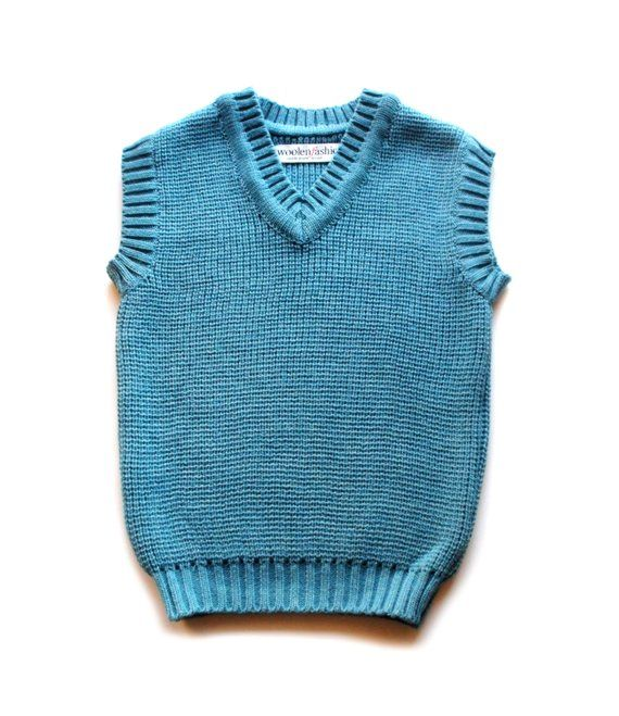 e4308a125 Babies Children s merino wool knitted Vest toddlers gilet sweater ...