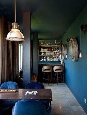 Interieurtrend: Petrol - Residence   Watercolor Walls   Pinterest ...