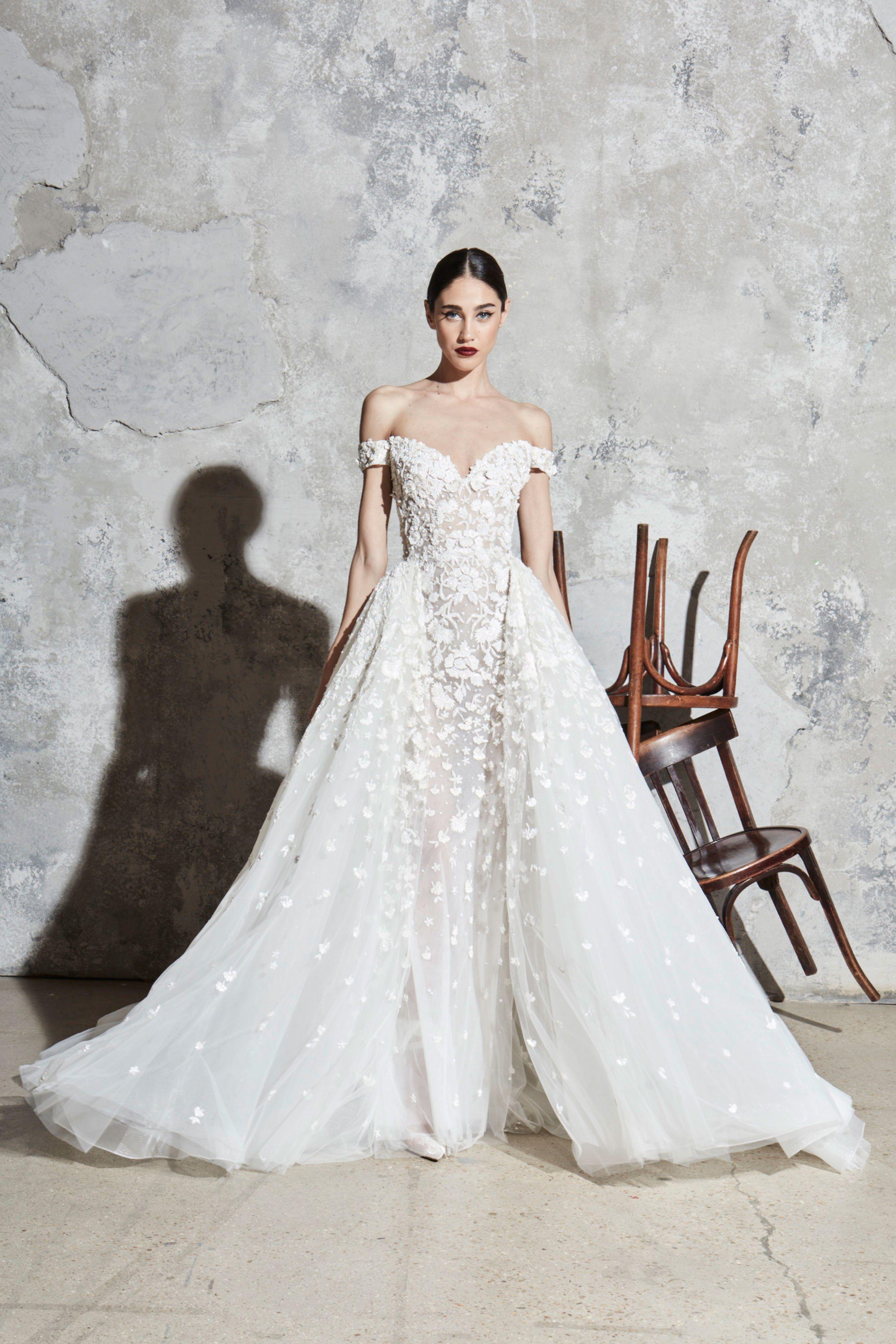 Zuhair Murad Bridal Spring 2020 Fashion Show Zuhair Murad Bridal Bridal Dresses Black Lace Bridesmaid Dress