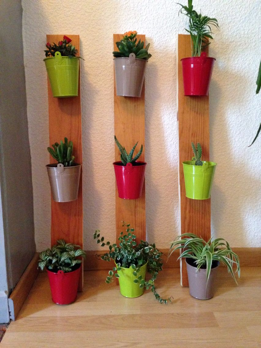 Mur végétal fait maison ! #deco #diy #murvegetal #flowers | Jardinagem, Jardim vertical, Ideias ...