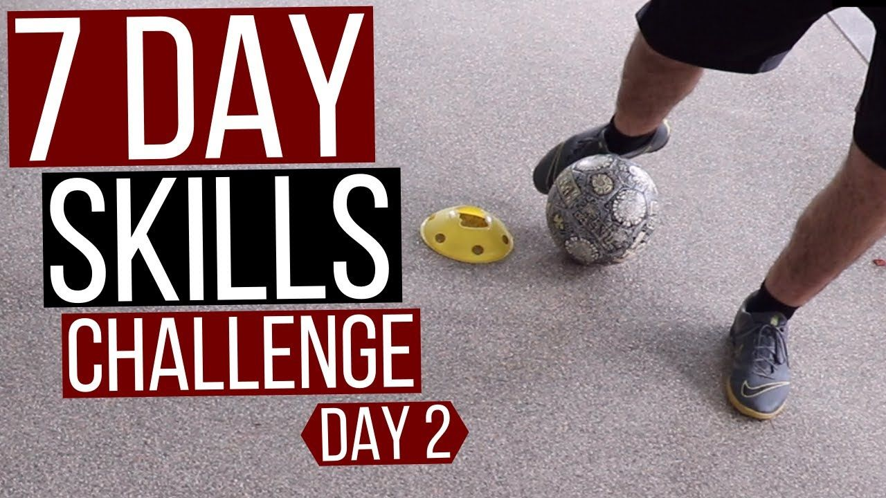 7 day soccer skills challenge at home day 2 ball