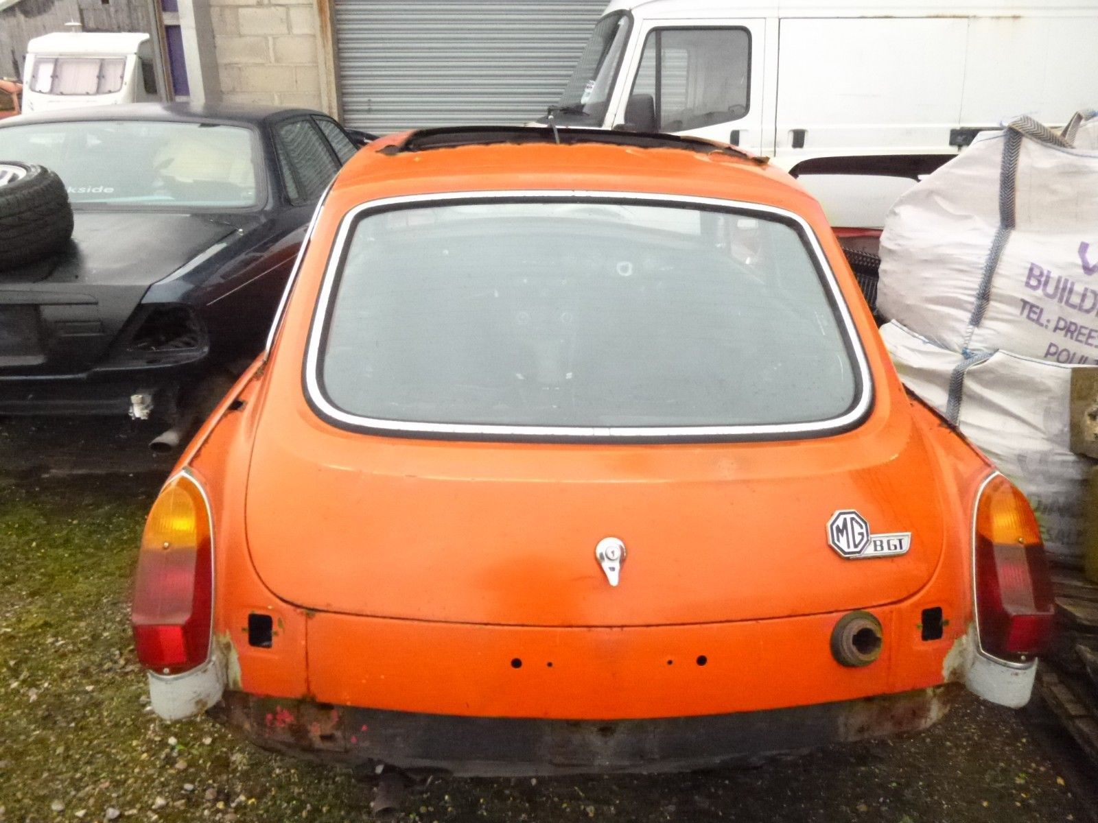 Ebay Mgb Gt Late 70 S Rubber Bumper Version Full Car Or I Will