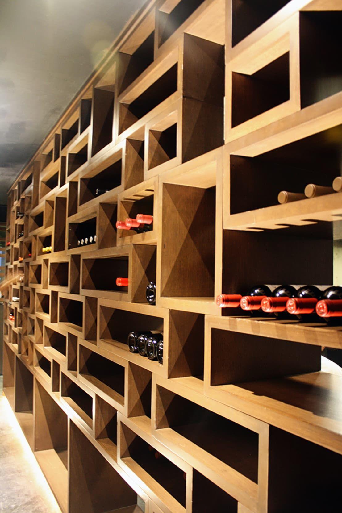 Homify en 2019 bar cavas de madera bodegas de vino y - Estanterias para bares ...