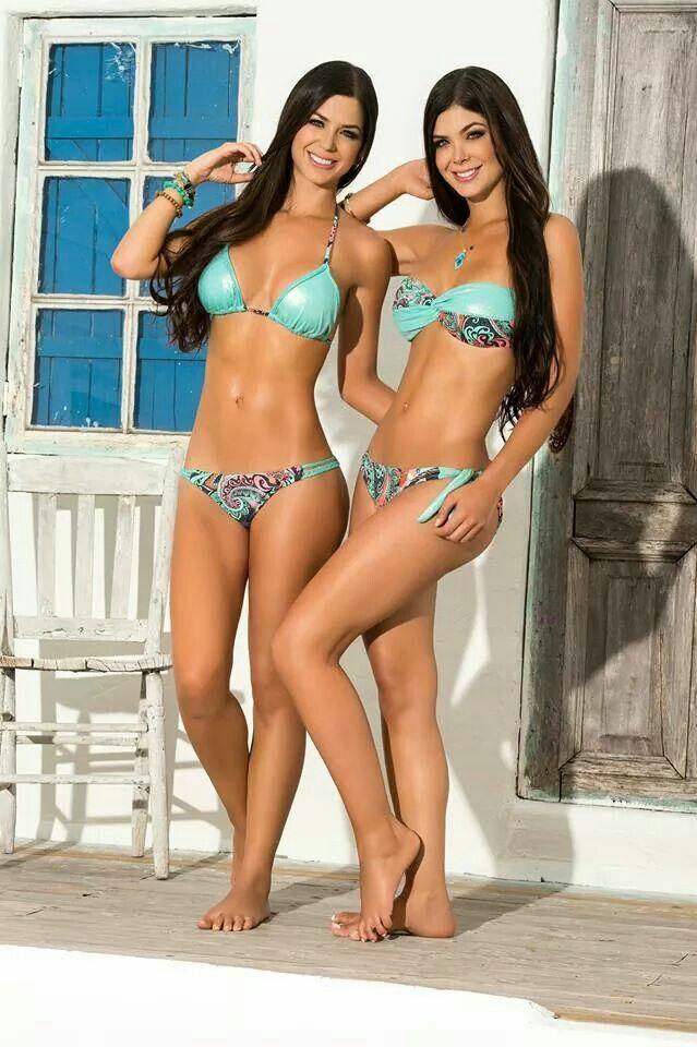 Columbiana bikini models pussy pics