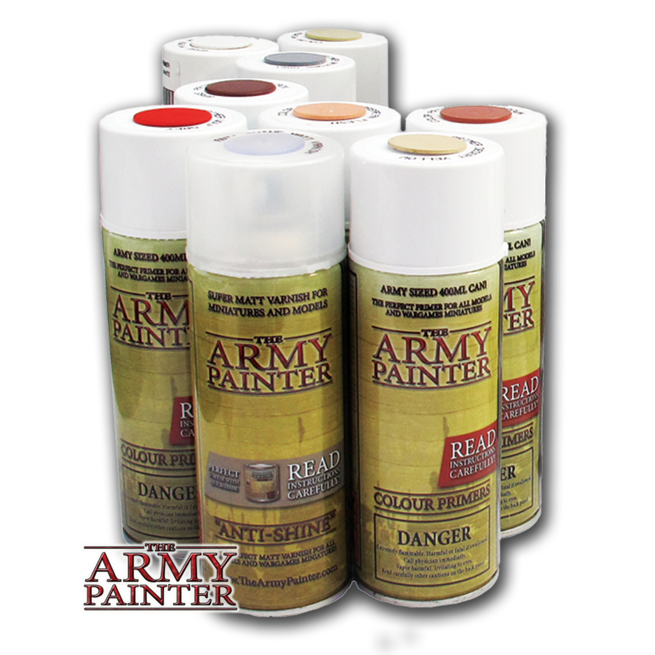 13 95 Army Painter Miniatures Primers And Varnishes Spray Paints Various Colors Army Painter Miniature Spray Paints Miniatures Air Brush Painting