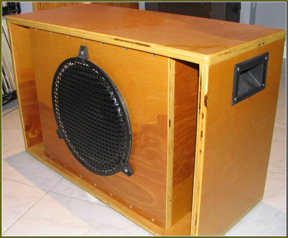 Guitar Speaker Cabinet Blueprints | DIY guitar cabinet ideas ...