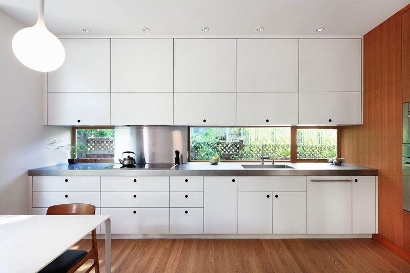 Kitchen Design Idea White Modern And Minimalist Cabinets