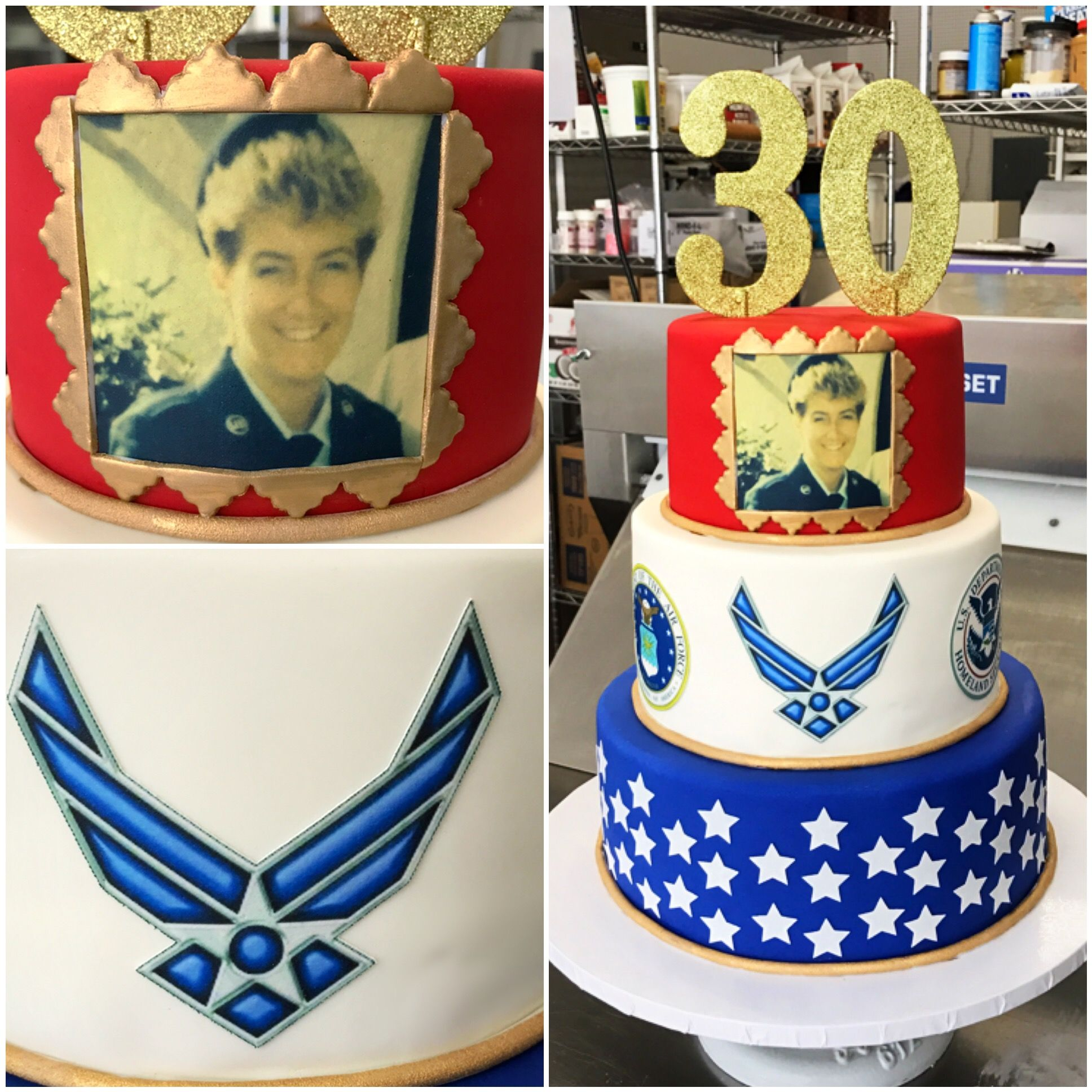 Air Force retirement cake. Retirement cakes, Military