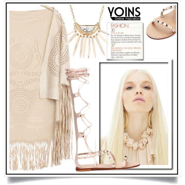 Yoins X/10 by ewa-naukowicz-wojcik on Polyvore featuring moda, yoins, yoinscollection and loveyoins