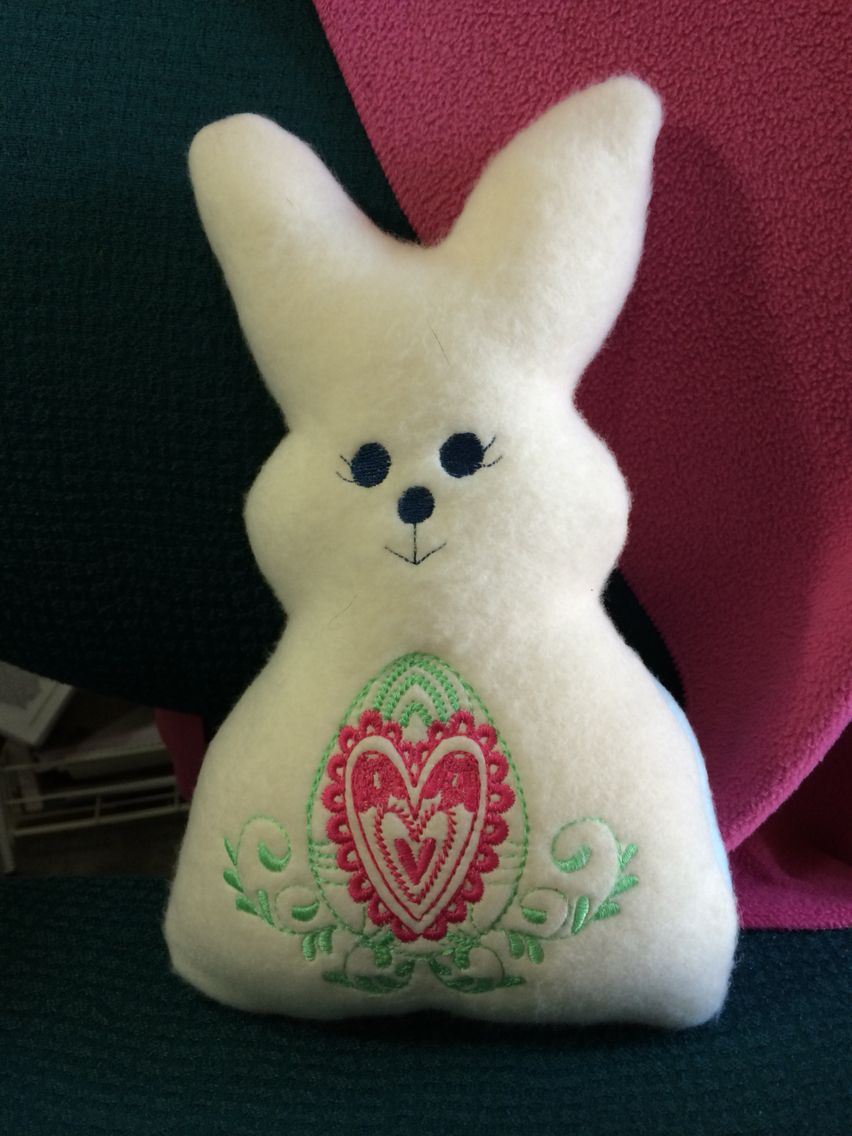 Embroidery Garden bunnies