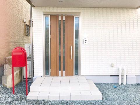 Web内覧会 入居前 玄関外 玄関 玄関 外 玄関ドア