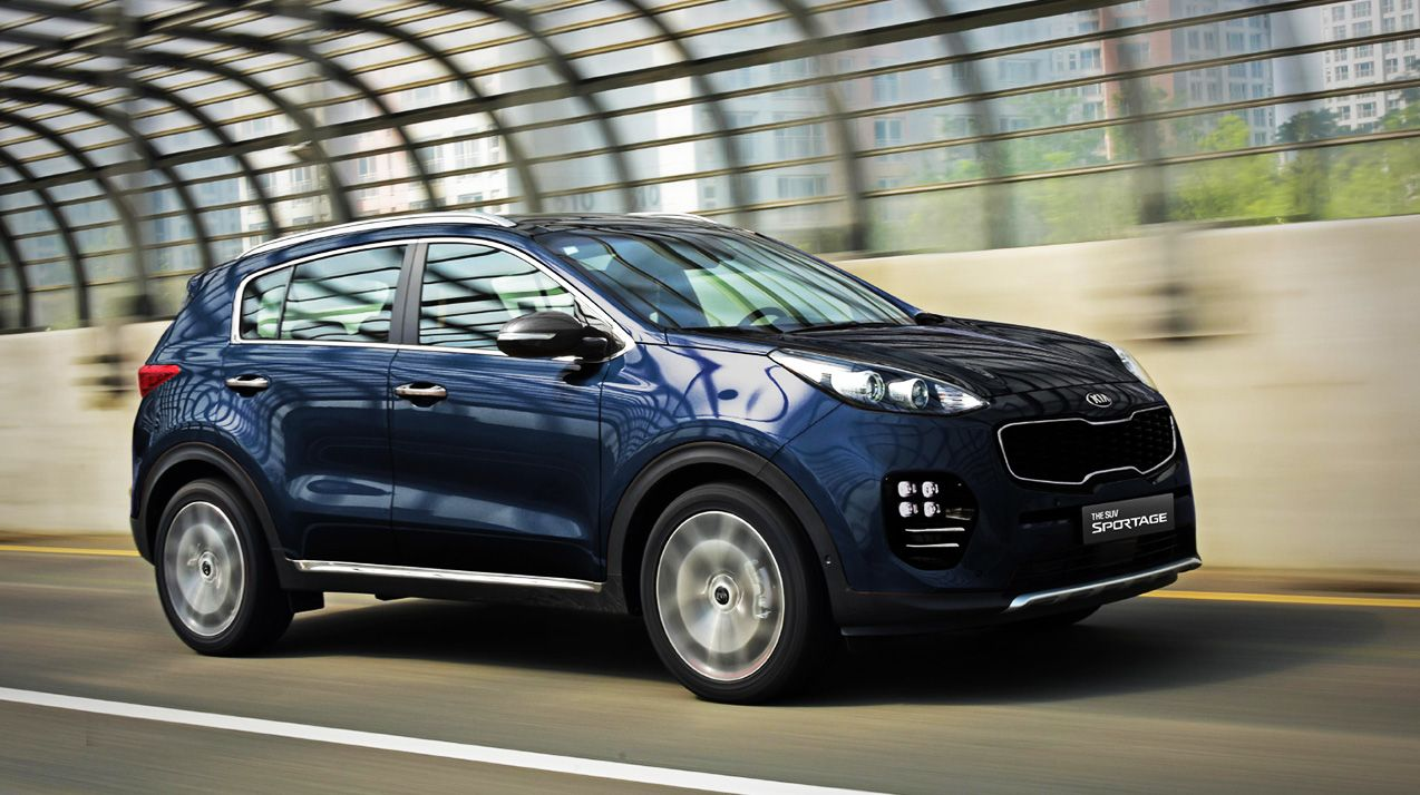 2016 Kia Sportage With New Design Kia Sportage Kia Kia 2017