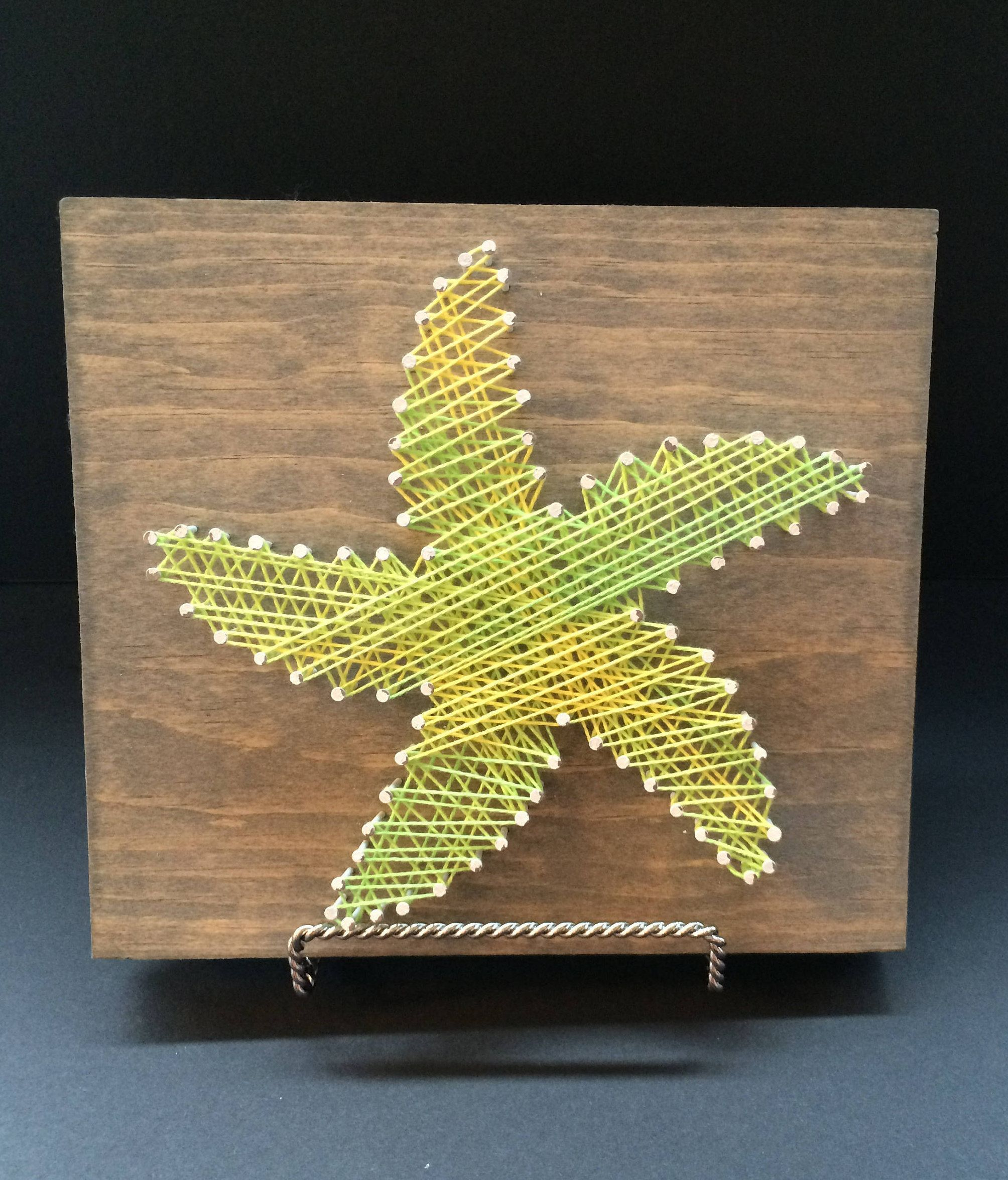 String Art Board: Starfish - [Made to Order], Cottage Decor, Wall ...
