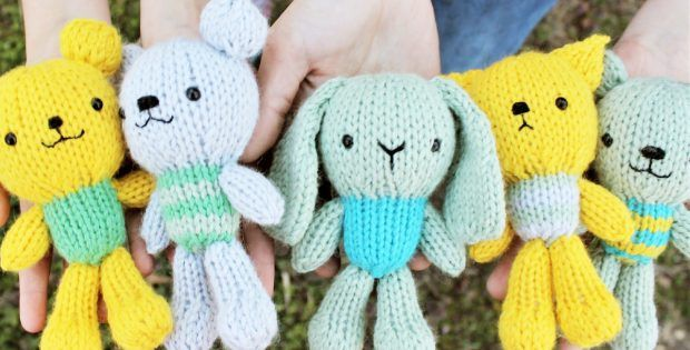 Gratitude Crew Knitted Toys FREE Knitting Pattern | Baby ...