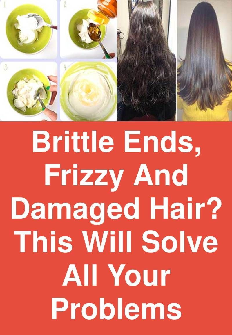 Brittle ends, frizzy and damaged hair? This will solve all your problems -   16 brittle hair Treatment ideas
