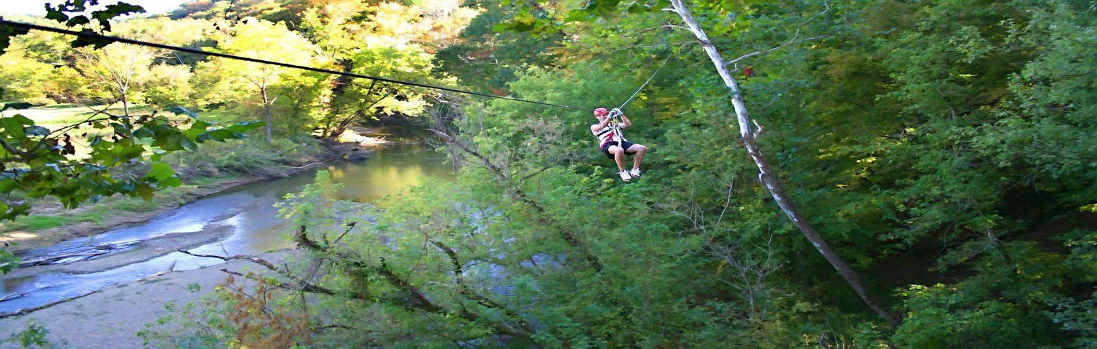 Hocking hills canopy tours cedar falls hocking hills