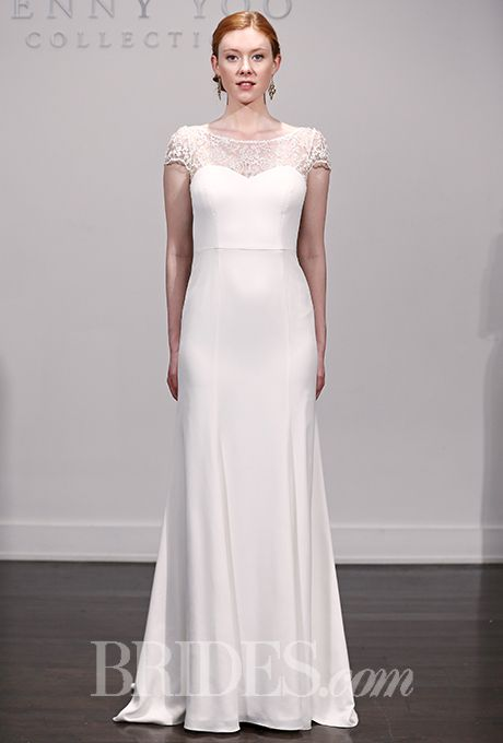 Lovely Brides: Jenny Yoo Wedding Dresses Fall 2015 Bridal Runway Shows Brides.com    Wedding Photo Gallery
