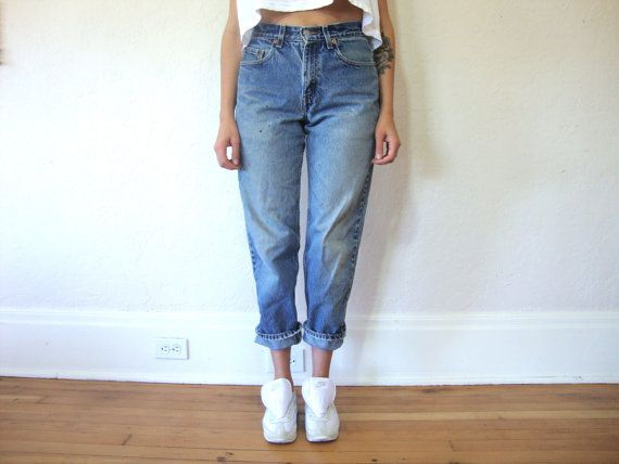 Levi's High Waisted Boyfriend Jeans Size S | Boyfriend jeans and ...
