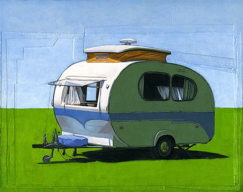 Perfect for the camper (by Leah Giberson) #decor #camper #design #print