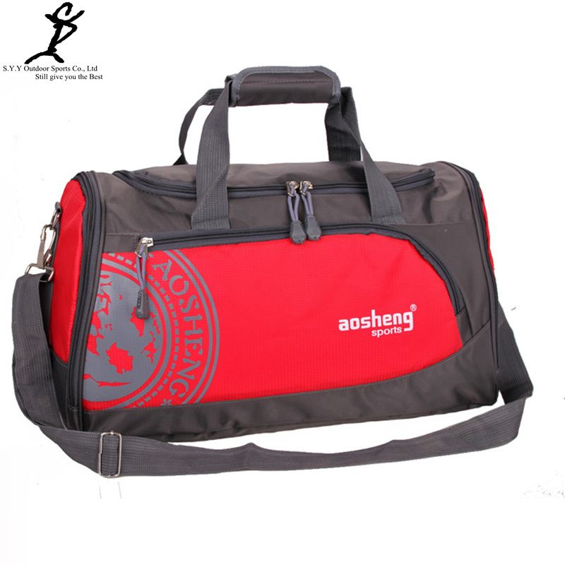 Professional Nylon Sports Gym Shoulder Bags Unisex Athletic ...