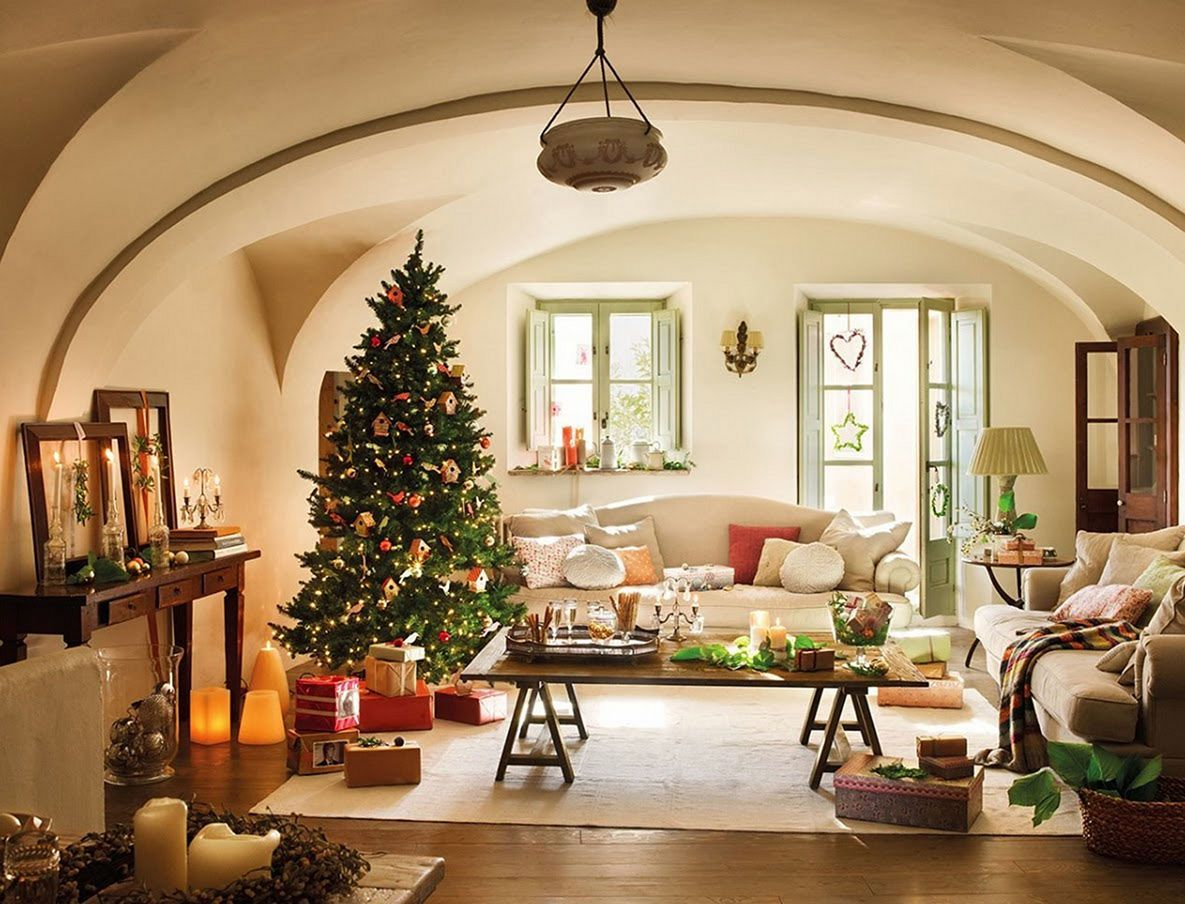 incredible living room design for christmas celebration also best  decoration images in rh pinterest