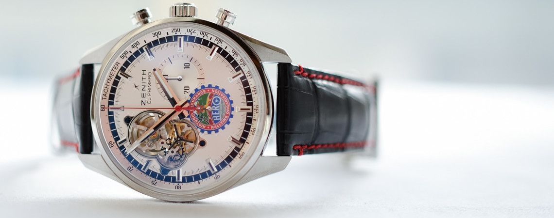 Introducing the Zenith El Primero Chronomaster Open 1969 HERO Cup Edition (with live photos) - Monochrome Watches