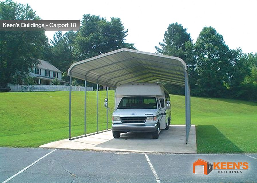Mobile Home Or Rv Carport By Keen S Buildings Steel Carports Carport Prices Carport