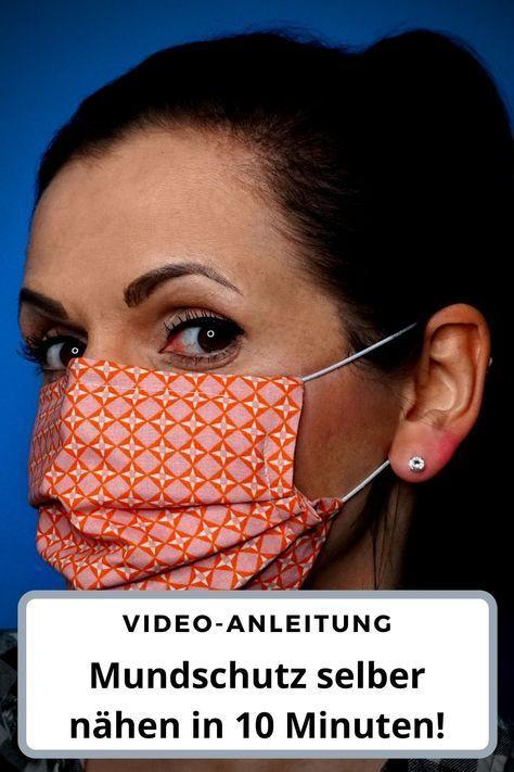 Photo of #stricken für kinder anleitungen 🔶 10 Minuten Mundschutz 🔶 mit Nasenbüge…