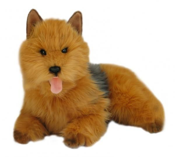 Australian Terrier Dog Plush Toy Cindy Australian Terrier Plush Dog Toys Animals