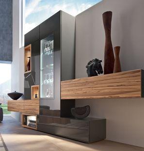Hulsta neo wandmeubel interieur paauwe zonnemaire media wall unit pinterest media wall - Hulsta now wohnwand ...