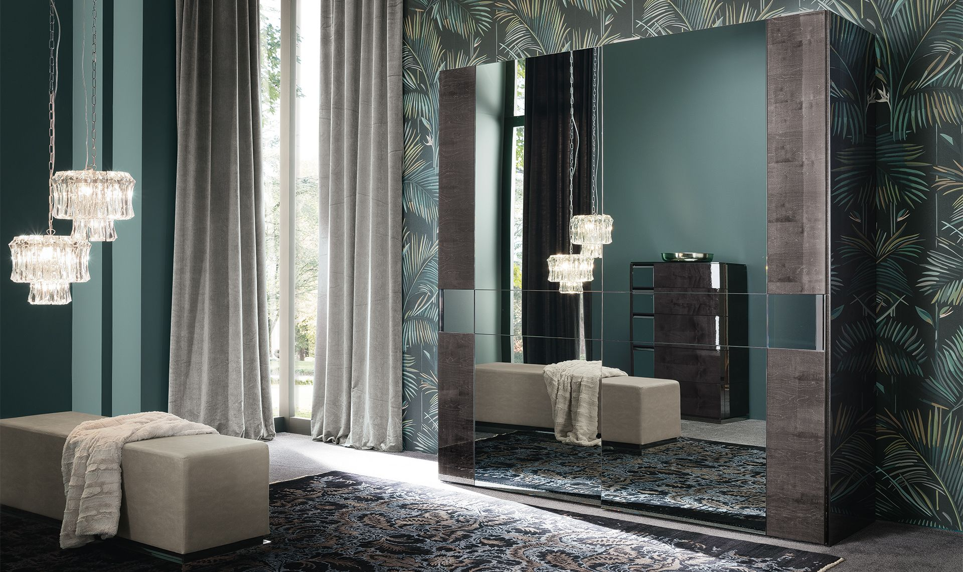 Heritage wardrobe by ALF | Italian furniture design, Italian interior design, Contemporary bedroom