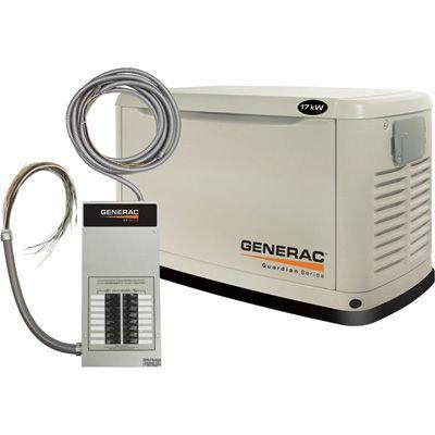 The Generac Guardian Transfer Switch Standby Generators
