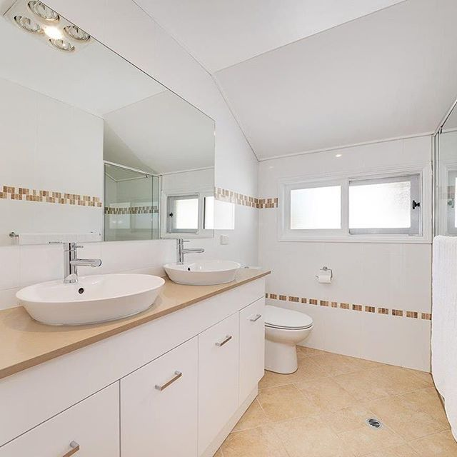 Crisp Clean Lines For A Bathroom Renovation Will Always Stand Test - Bathroom renovation time