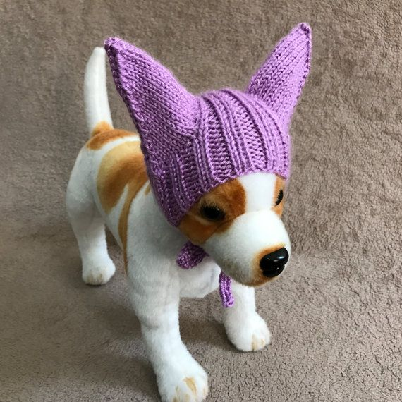 Pet Clothes Outfit Apparel Crochet Bat Hat for Small Dog Hand ...