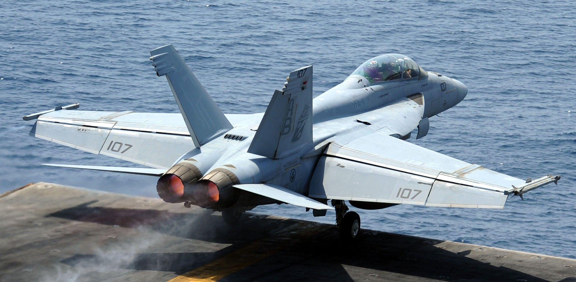 VFA-11 Red Rippers Strike Fighter escuadrilla de la marina de guerra de EE.UU.